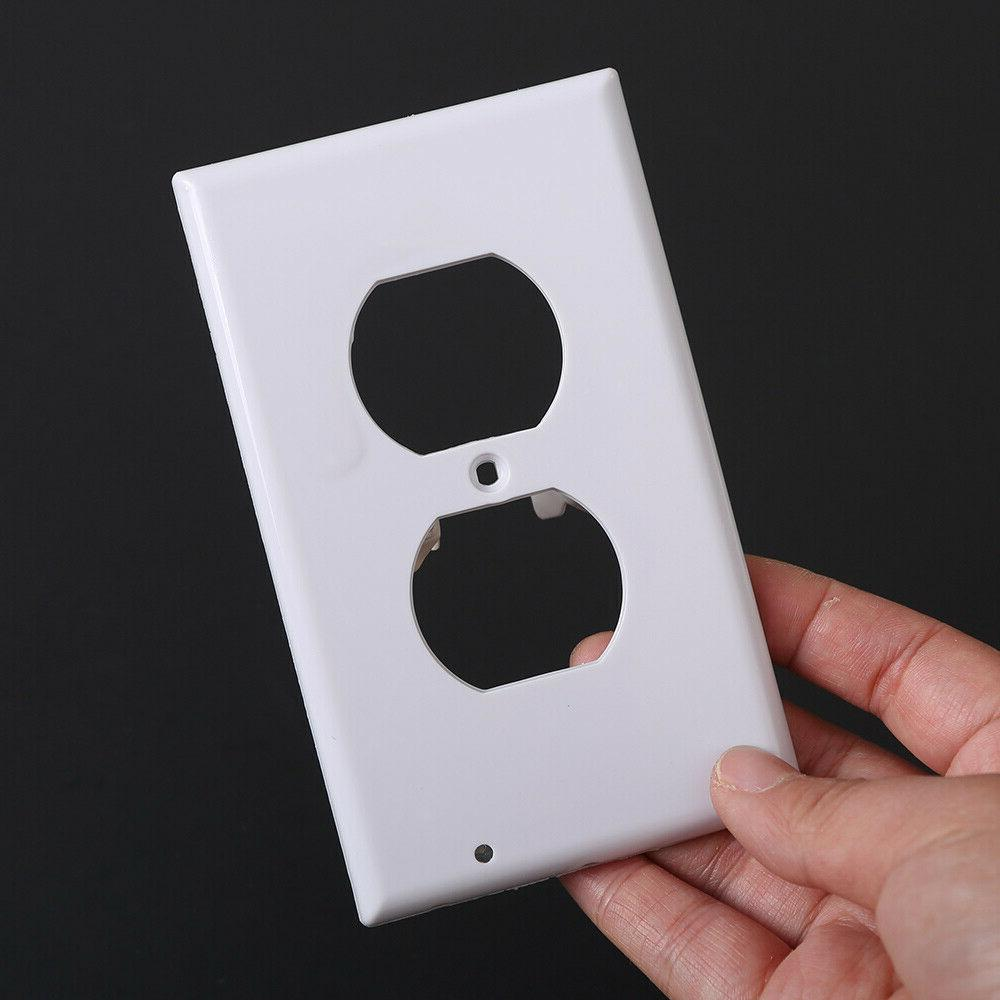 Duplex Outlet wall plate night Ambient sensor