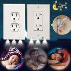 LED Plug Cover plate Night Angel Wall Outlet Face Hallway Co