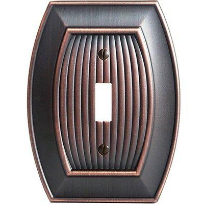 oil rubbed bronze wall plate cover toggle