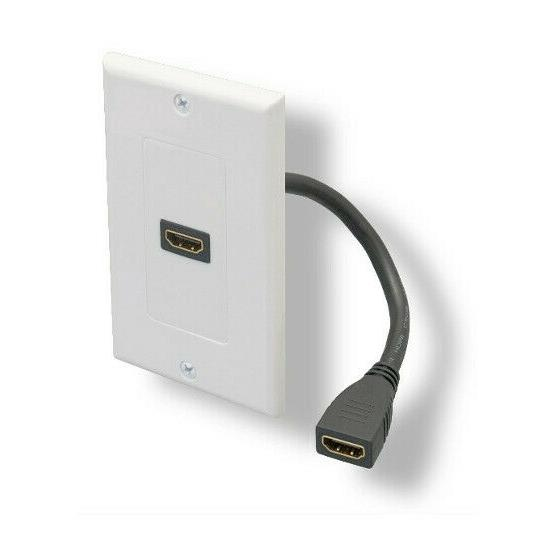 one port hdmi 8 pig tail wall