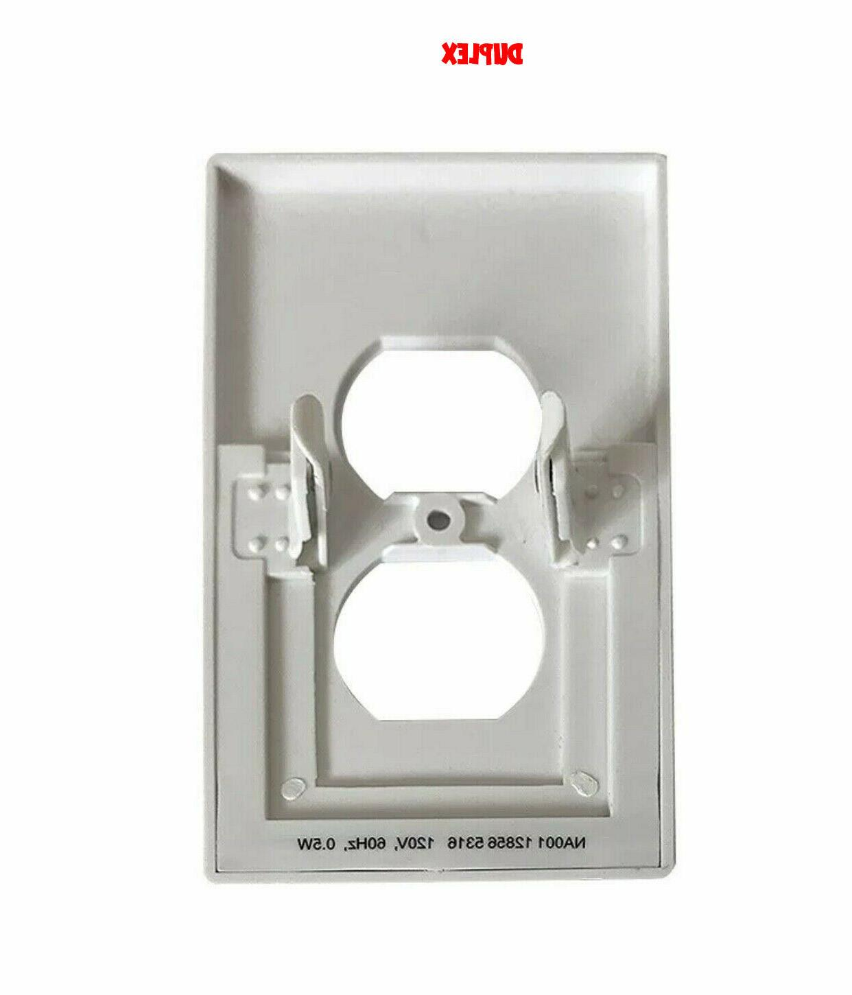 Outlet Wall Night Decor With Sensor