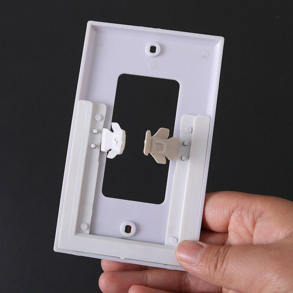 Pack of wall night lights Cover light sensor