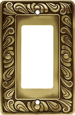 Brainerd Paisley Single-Decorator / GFCI Wall Plate, Availab