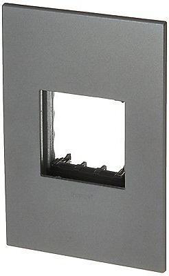 PASS & SEYMOUR AWP1G2MG6 Adorne 1 Gang Magnesium Wall Plate