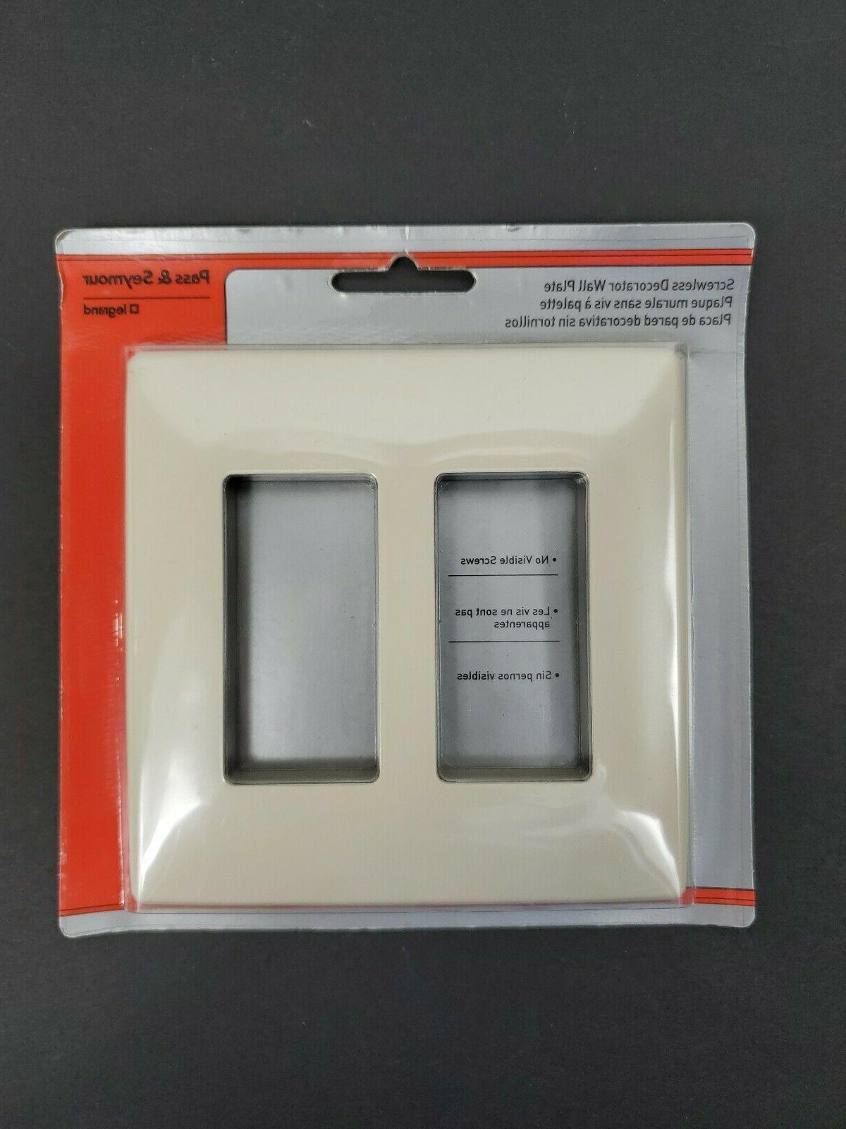 Pass Seymour Screwless Decorator Light NEW