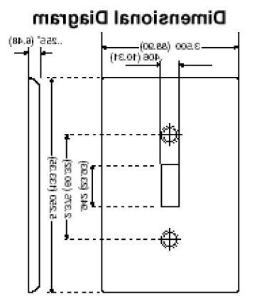 PLATE,1-GANG SWITCH,