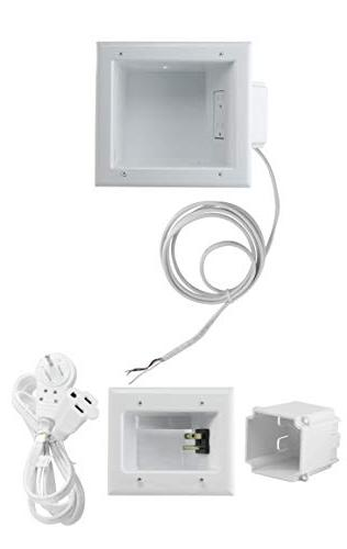 recessed tv cable media kit