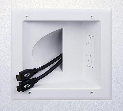 Recessed Low Media Plate with Duplex