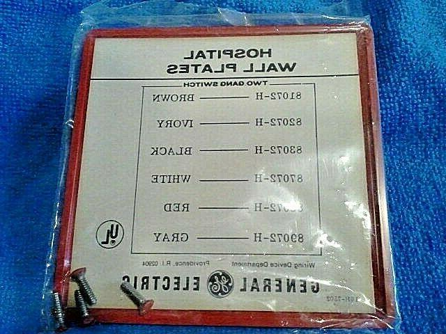 GE Red Plate Plate Cover, AND SCREWS 88072-H