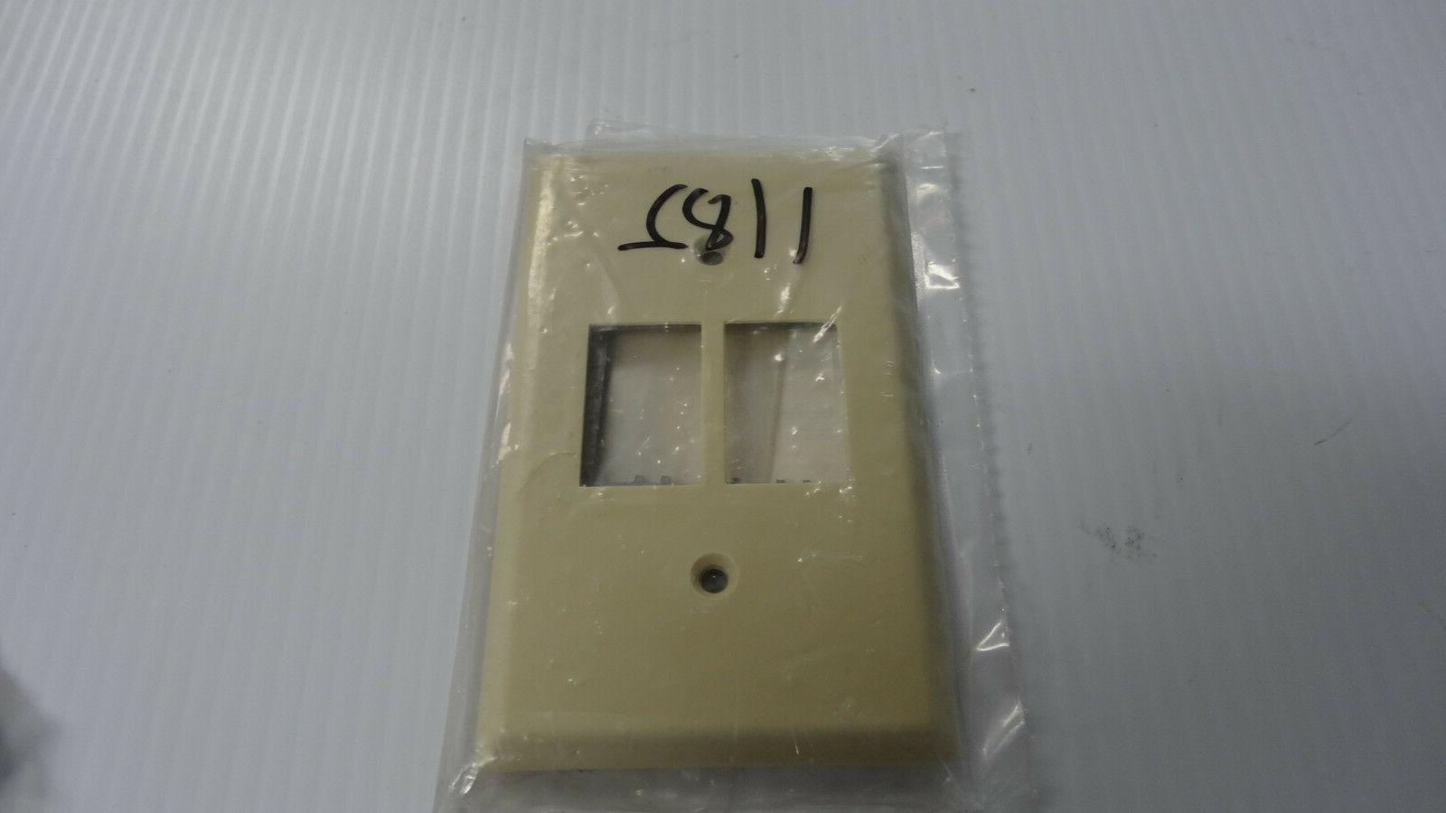 GE RP2-122 Wallplate/RPW Low Voltage Switch, 1-Gang,  Switch