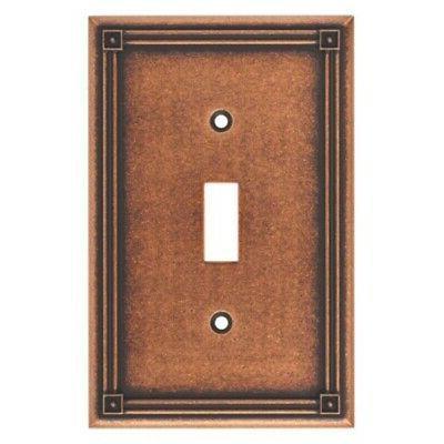 ruston single switch wall plate