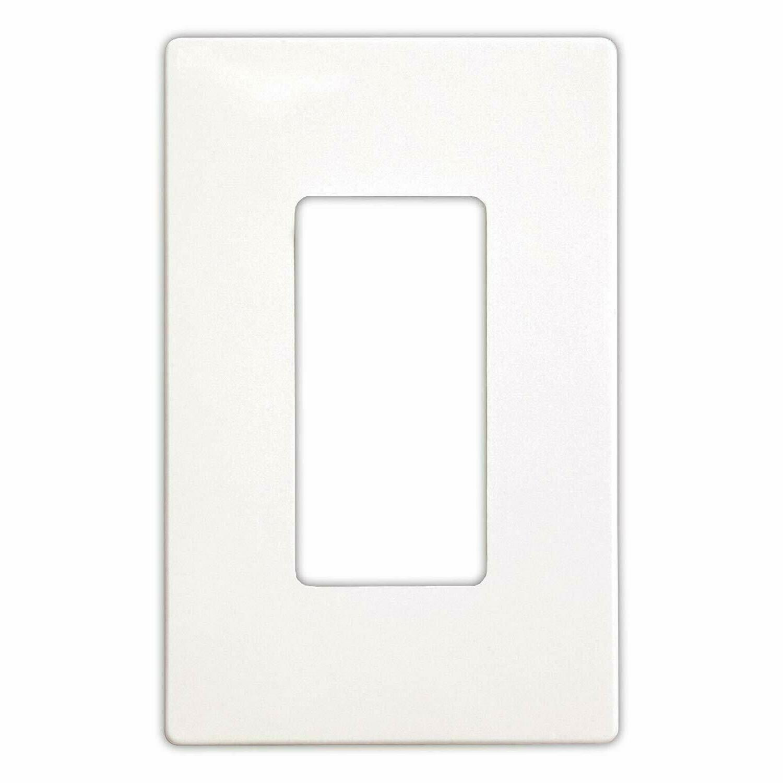 screwless decora wall switch plate 1 4
