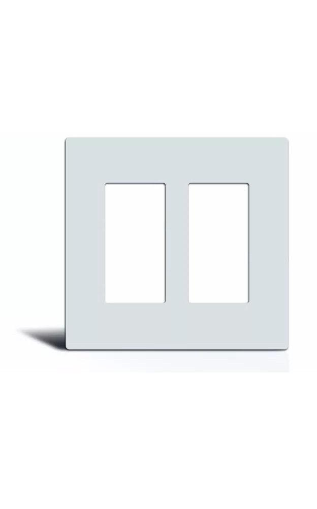 Screwless Decorator GFCI Rocker Switch Wall Plate Outlet Cov