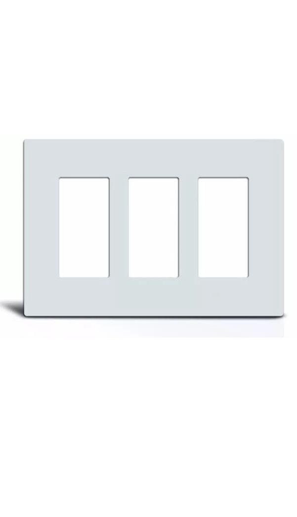 Screwless Rocker Switch Plate Outlet Covers