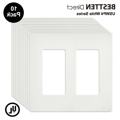 screwless wall plates