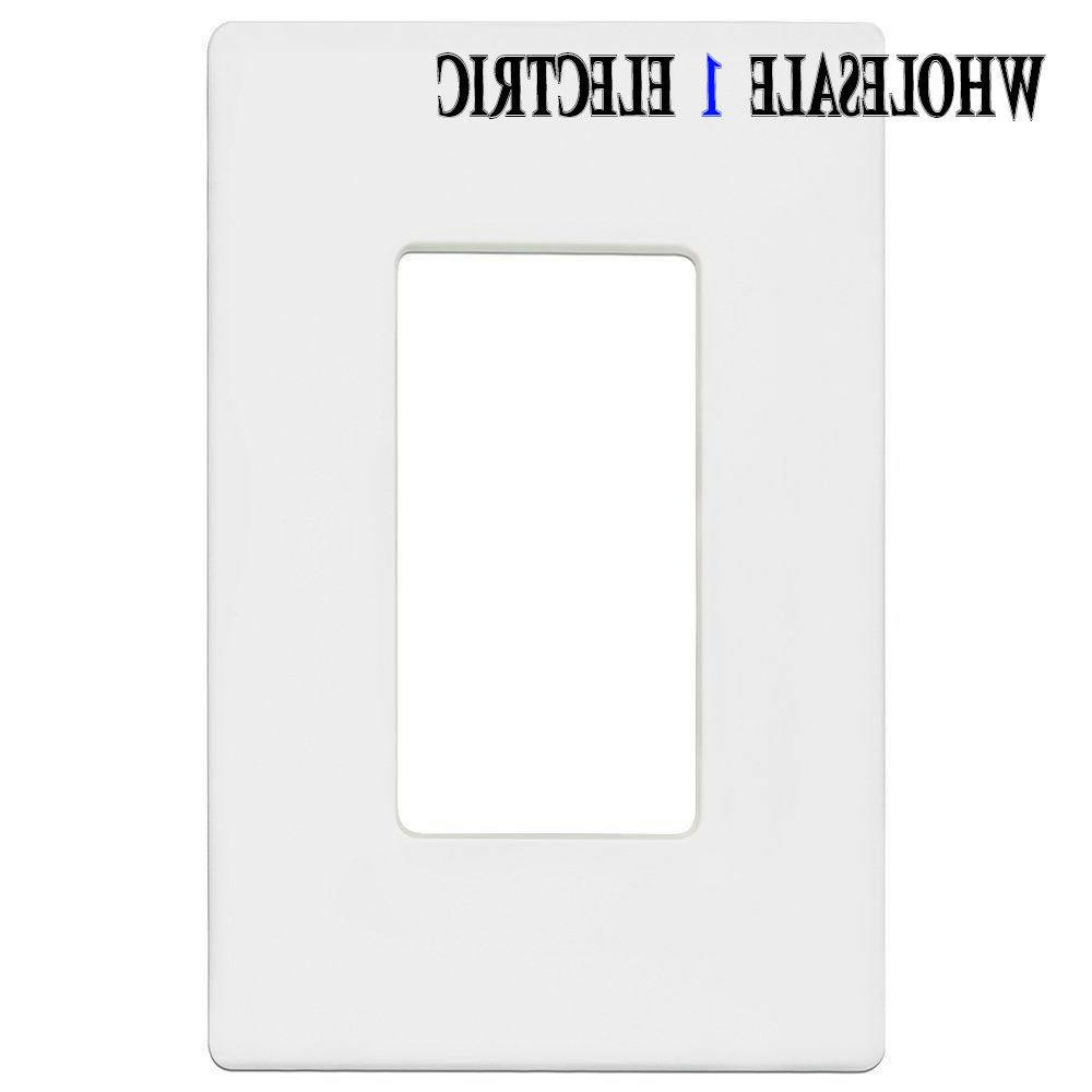 Enerlites Switch Plate 5 White