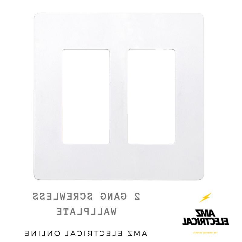 Screwless 1-4 White, Switch