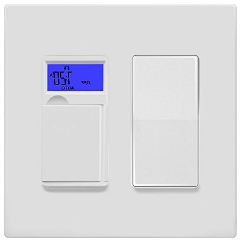 ENERLITES Plate Child Safe Thermoplastic, White
