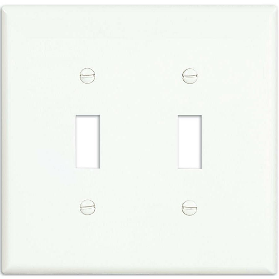 Single Toggle Light Switch Wall Plate 1, 2,