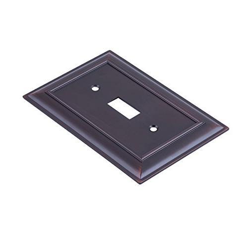 AmazonBasics Plate, Oil Bronze, 3-Pack