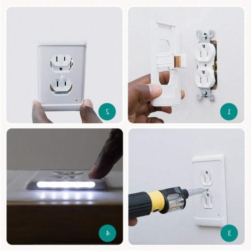 Guide light Wall Plate With PL