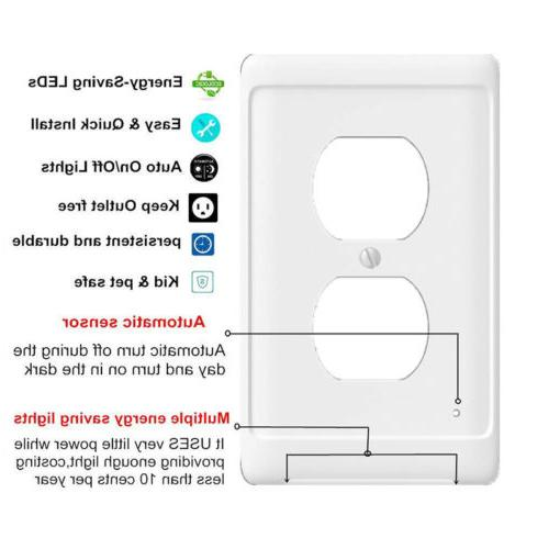 Guide light Wall Plate With Night Lights PL