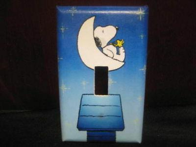 snoopy and woodstock light switch wall plate