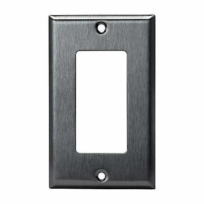 Stainless Plate Decorator Outlet Cover