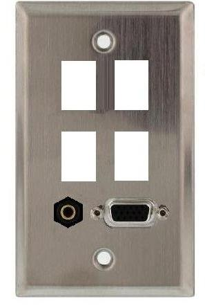 stainless steel wall plate