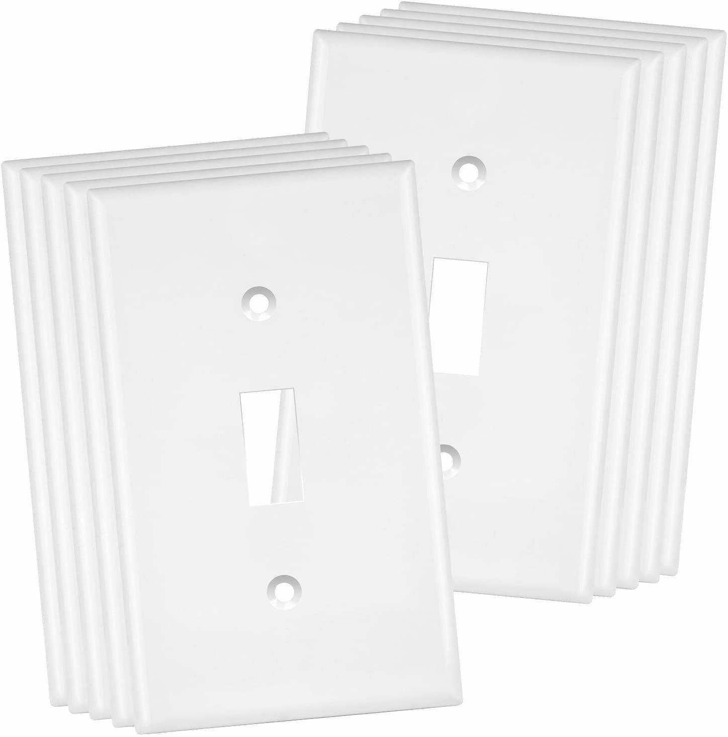 toggle light switch wall plate size 1