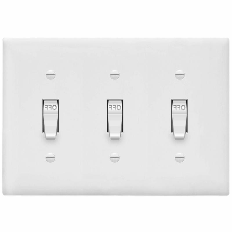 Enerlites Toggle Light Switch Wall Plate Standard Size