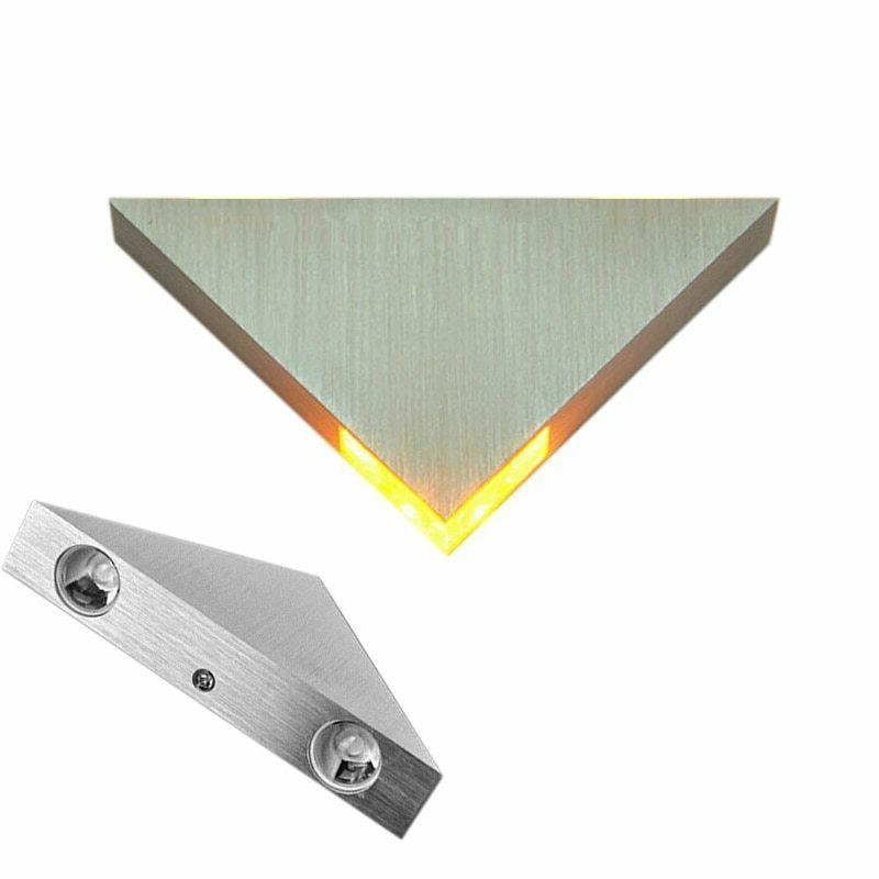 Triangle Wall Lamp Led Bulb Home Night Mounted