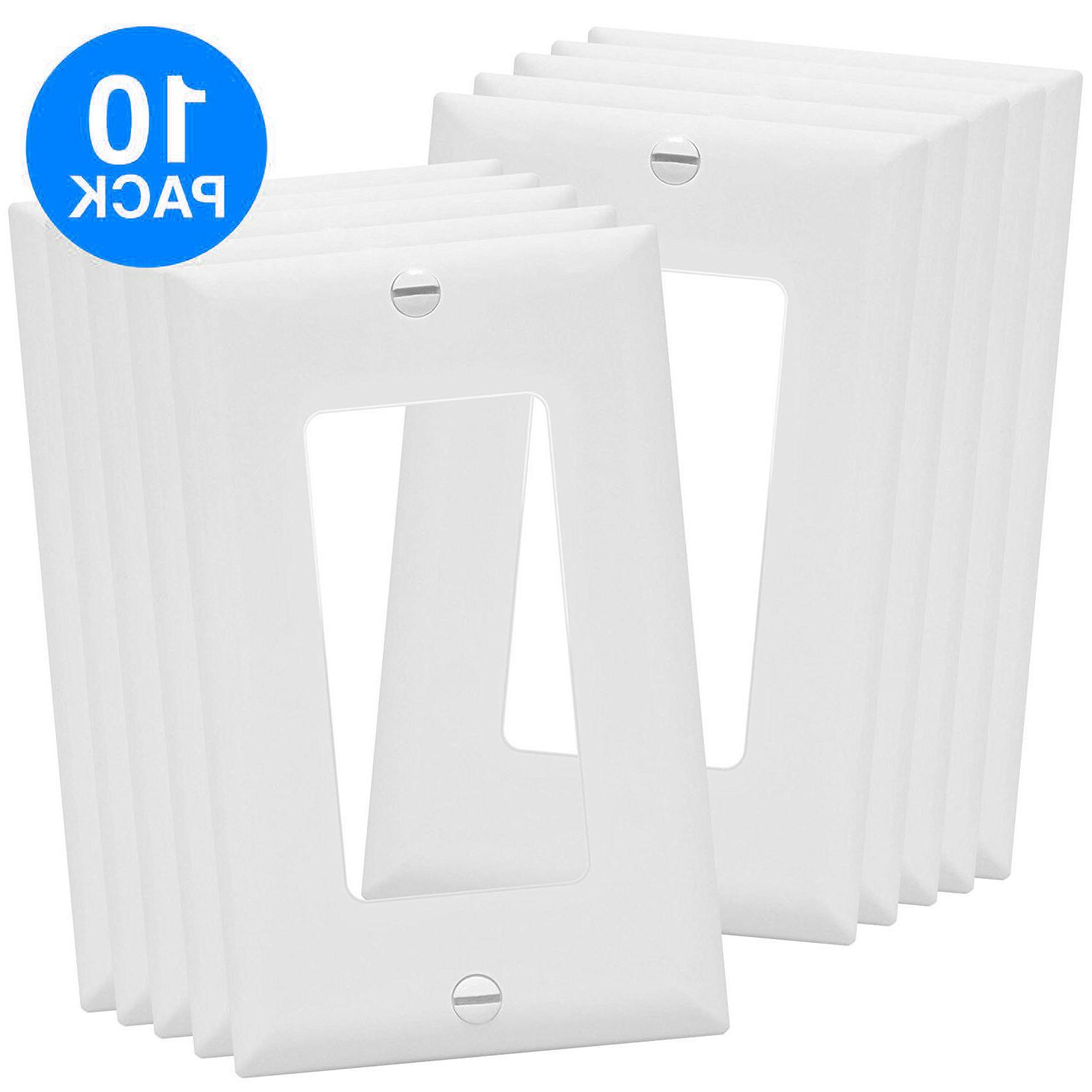 unbreakable decorator outlet switch wall plate cover