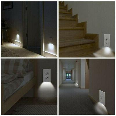 5Pc Outlet Cover Night Ambient Light Sensor