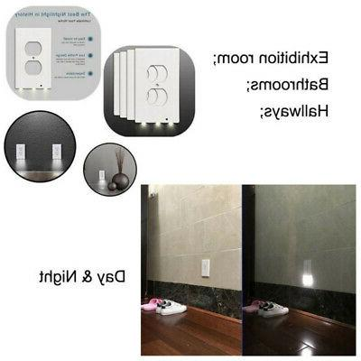 5 Plate Outlet Cover LED Light