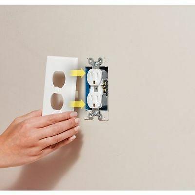 USA Plug Cover LED Night Wall Light