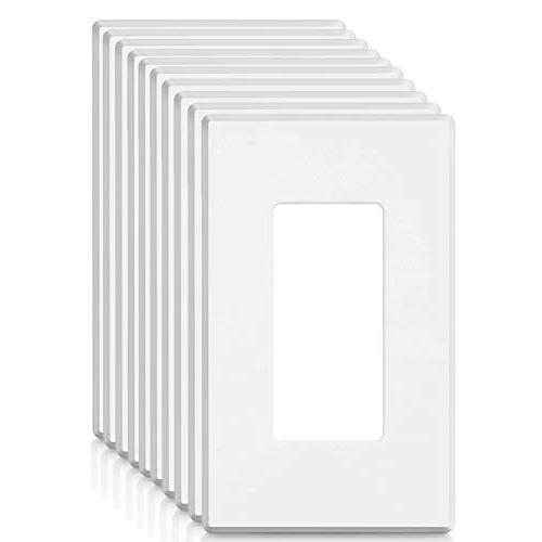 BESTTEN USWP4 Series, 1-Gang Standard Size Screwless Wall P