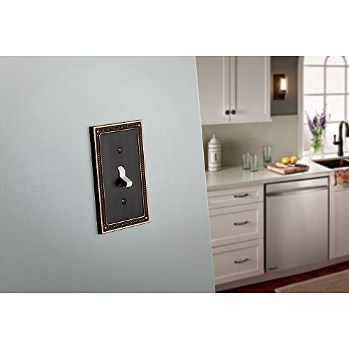 Franklin Brass W35058-VBC-C Beaded single Wall Plate / with