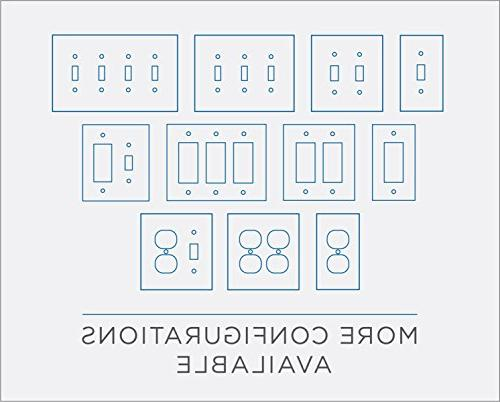 Architecture Single Wall Plate/Switch Plate/Cover