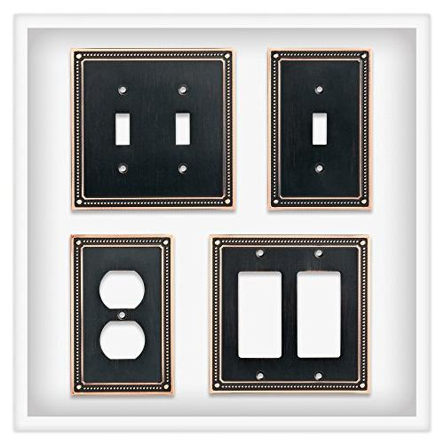 Franklin Classic Beaded Wall Switch with Highlights