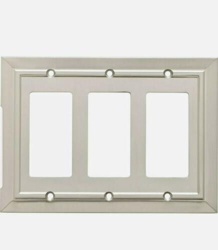 Franklin Brass W35226-SN-C Classic Architecture Triple Decor
