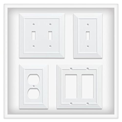 Franklin Brass W35241-PW-C Architecture Wall Plate/Switch White