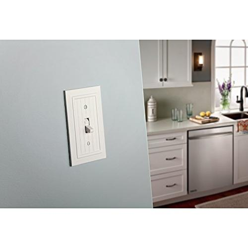 Beadboard Wall Plate/Switch , White