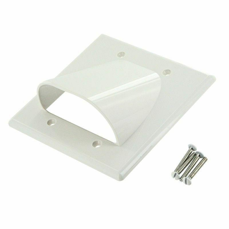 Wall Management Panel Cables Outlet Gang Cover