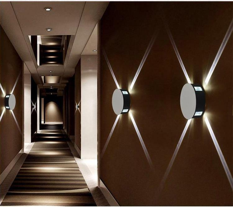 Wall Mounted Bedside Night Light Sconce Led Stair Decor