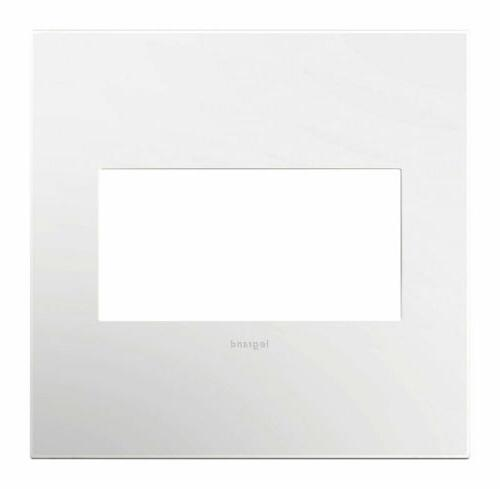wall plate adorne 2g wht