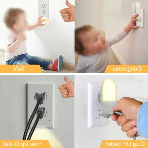 Wall Plate Cover With Ambient Auto On/Off