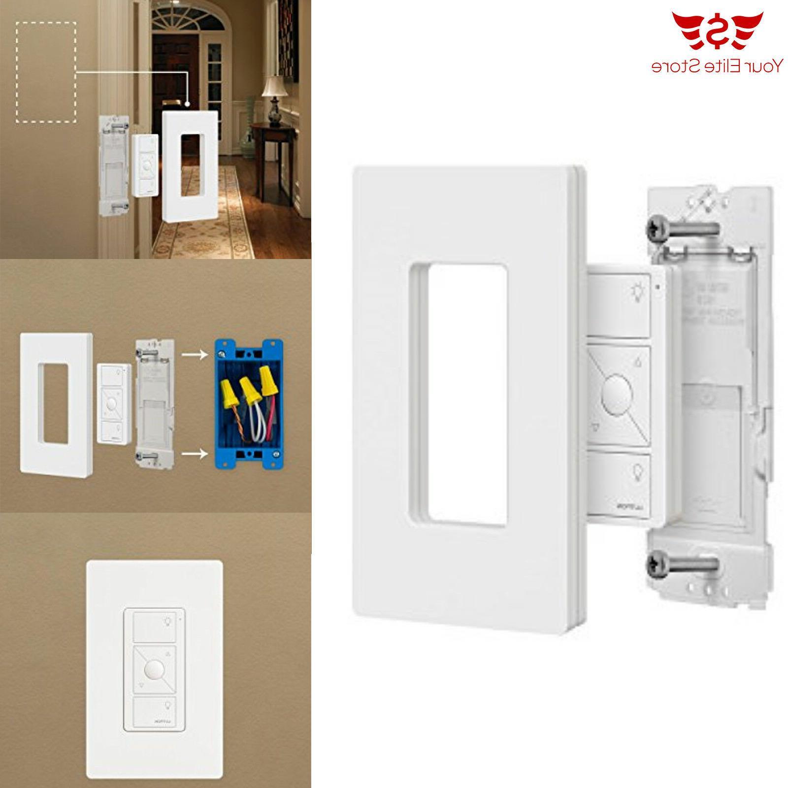 Wallplate Lamp Pico Remote Control Dimmer Caseta Wireless Plug-In