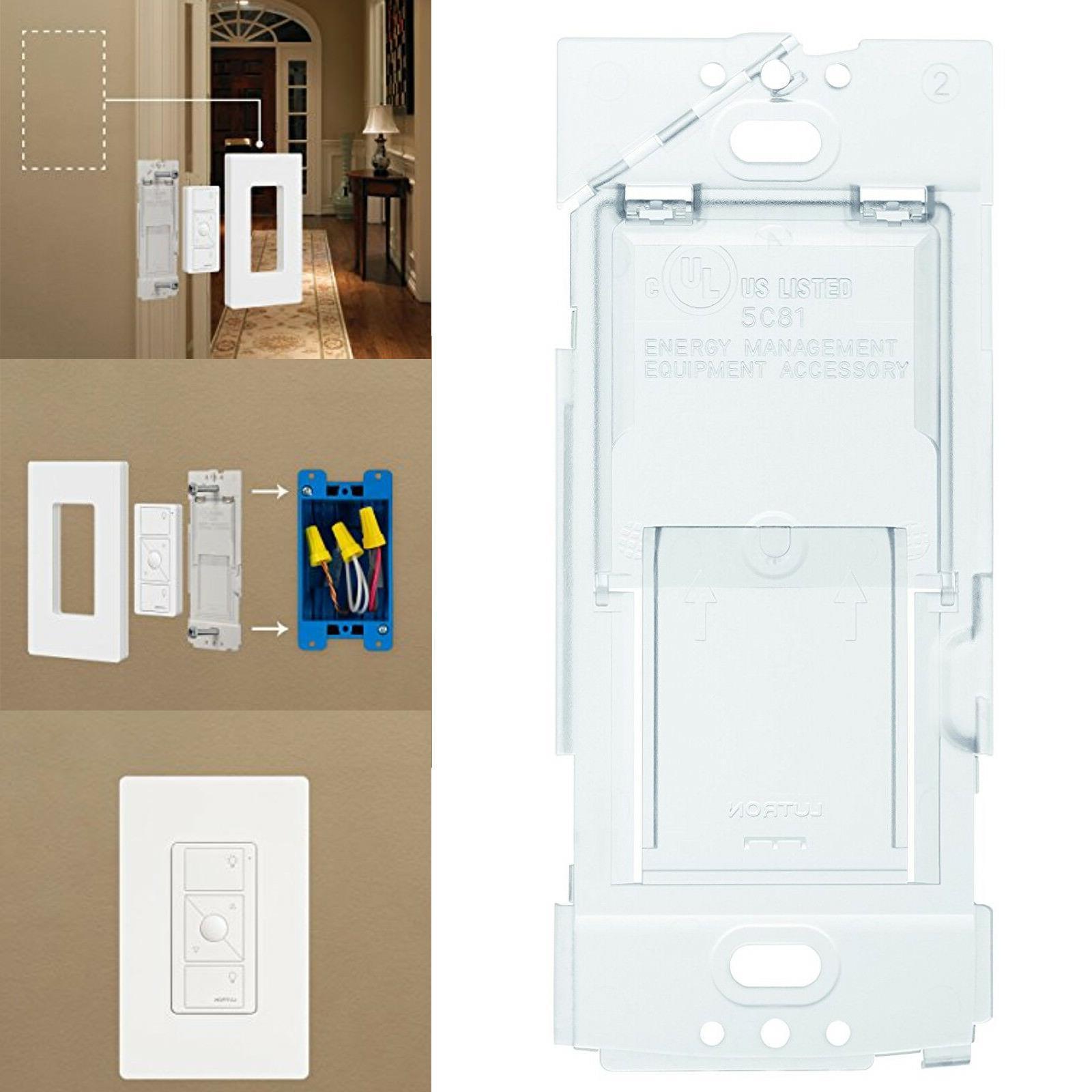 wallplate bracket lamp pico remote control dimmer