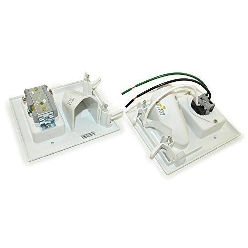 Datacomm Kit Inlet White